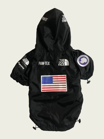 <h4>Pupreme Expawdition Windbreaker Black</h4>