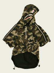 <h4>Barking Pup Camo Windbreaker</h4>