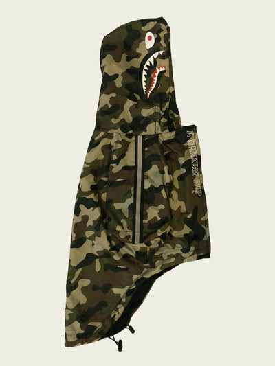 <h4>Barking Pup Camo Windbreaker</h4>  <p><h8> RTX Series©</p></h8>
