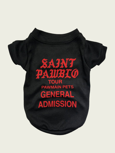 <h4>Saint Pawblo Tee Black </h4>