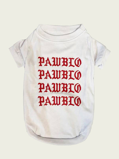 <h4>Pawblo Tee</h4> <p><h7>More Colors Available</p></h7>
