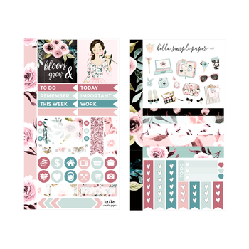 Bloom & Grow | Personal Size Weekly Sticker Kit