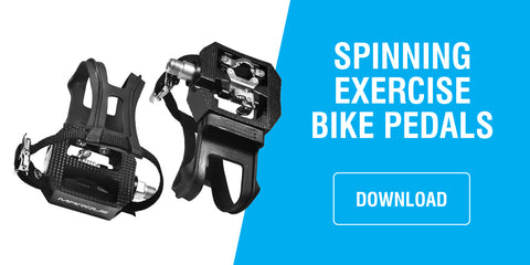 spinning pedals