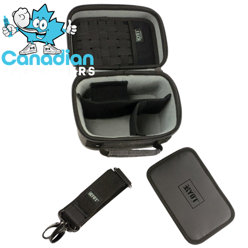 2.3L Safe Case with SmellSafe Technology Black By Ryot, [product_type] - Canadian Vaporizers