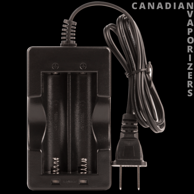 Arizer Air 1 & 2 Dual Battery Charger, Herbal Vaporizer Parts - canadianvaporizers