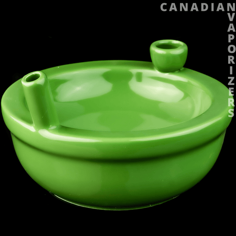 Ceramic Green Munchies Bowl