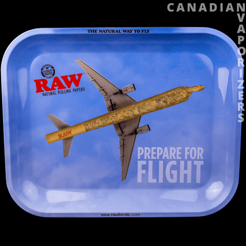 Large Raw Flying High Tray