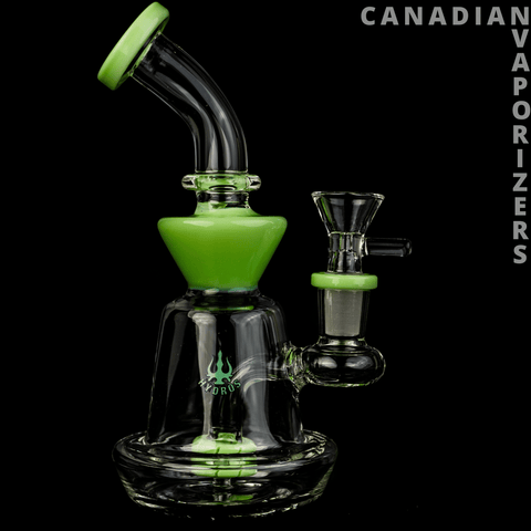 Lime Green | Hydros Hourglass Bubbler