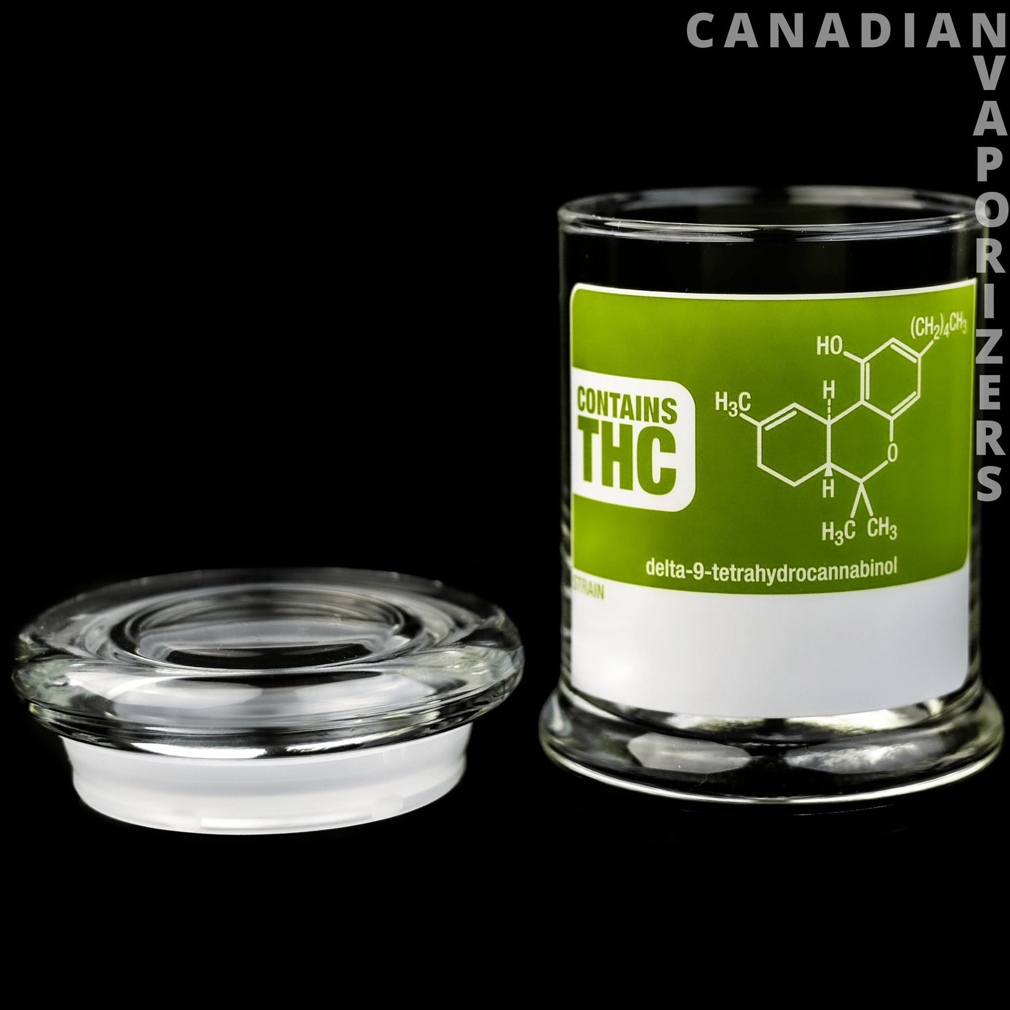 Large Pop-Top Jar THC