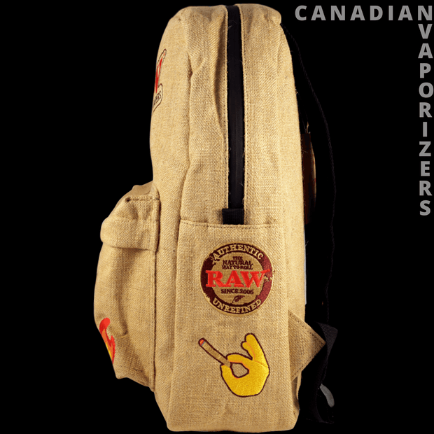 Raw Backpack, Clothing - Canadian Vaporizers