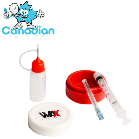 Wax Liquidizer Mixing Kit (Syringe, Silicone Jar and Bottle)