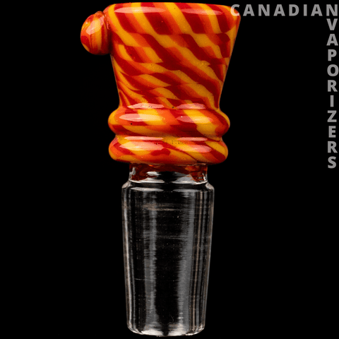 Yellow/Orange/Red | 14MM Hydros Funnel Bowl