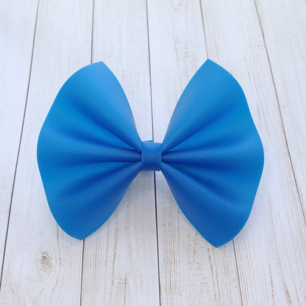 Royal Blue jelly bow - Baby's first birthday, baby shower gift, toddler gift