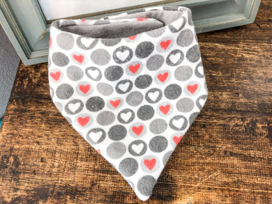 Bandy Bibs - Grey Valentine