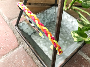 Neon Braided Headband