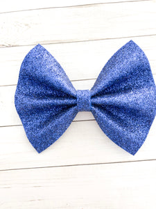 Ciera - Royal Blue glitter felt