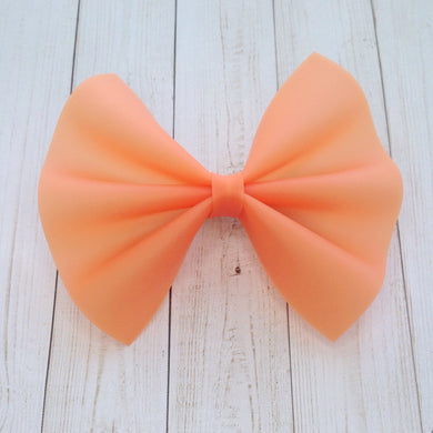 Orange Jelly standard - Baby's first birthday, baby shower gift, toddler gift, jelly bow