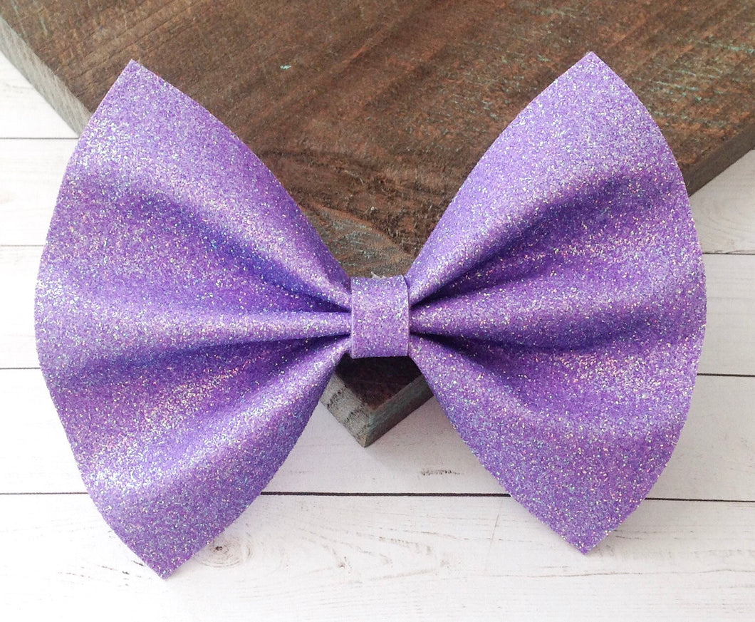 Kate - light purple iridescent glitter felt