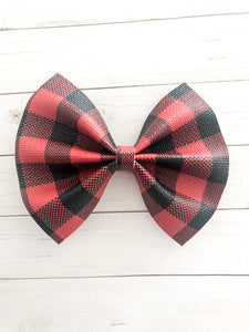 Ciera - Red buffalo plaid