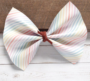 Kate - Pastel Rainbow Stripe
