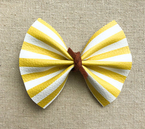 Ciera - Yellow & White stripe