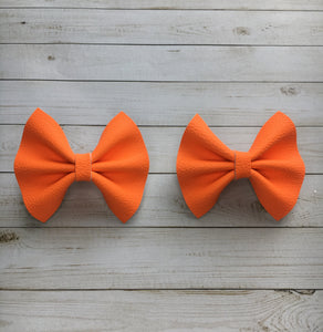 Neon Orange piggy set