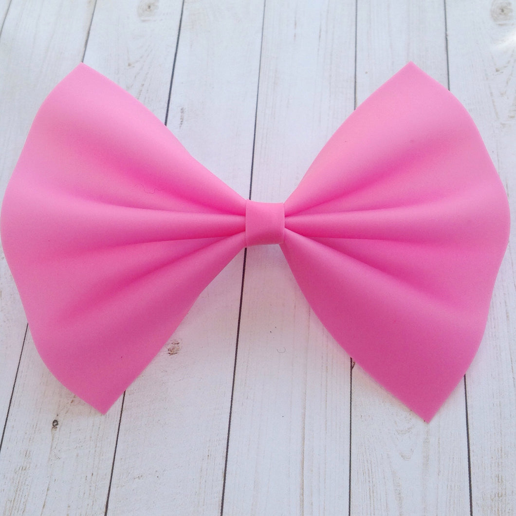 Barbie Pink Jelly XL - pink bow, pink jelly bow, baby shower gift, baby gift, toddler gift, baby's first summer
