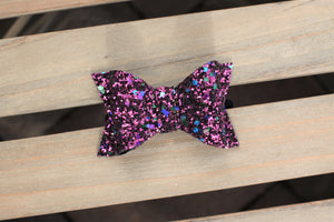 Merlot boxy - Deep burgundy glitter bow, baby gift, baby shower gift, wine lovers bow, baby accessories, toddler accessories