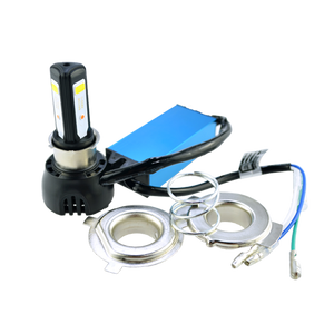 Motorcycle LED Headlight Bulb Conversion Kit with Fan 40W - BROS International Co., Limited BROSintl