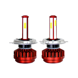 Automotive LED Headlight Bulbs Two Sides Emitting w/ Fan and External LED Driver 4000 Lumen 36 Watt - BROS International Co., Limited BROSintl