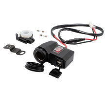 2 IN 1 Motorcycle Dual USB Charger 3.1A w/ Cigarette Lighter Socket - BROS International Co., Limited