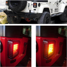Jeep Wrangler JK LED Tail Brake Light Assembly w/ Turn Signal Light