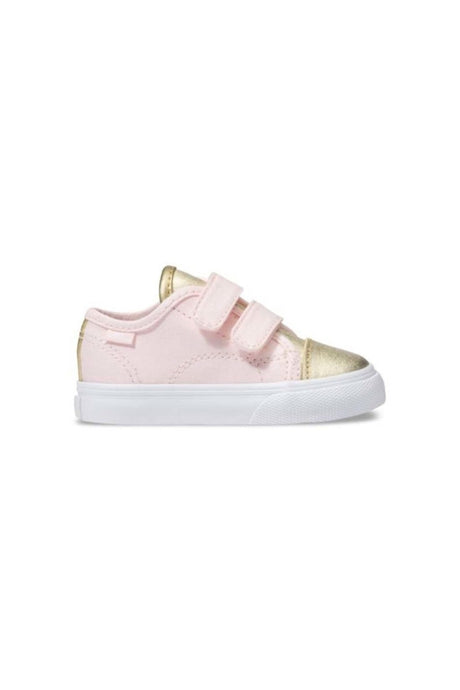 VANS TODDLERS STYLE 23 V (METALLIC TOE)