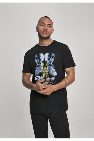 TUPAC HEAVEN TEE MT696 BLACK