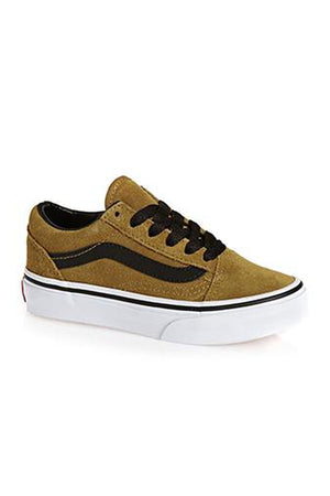 VANS KIDS OLD SKOOL - CUMIN/BLACK