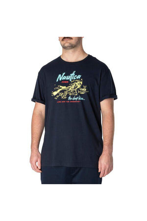 NAUTICA BIG & TALL THE DEEP BLUE TEE NAVY