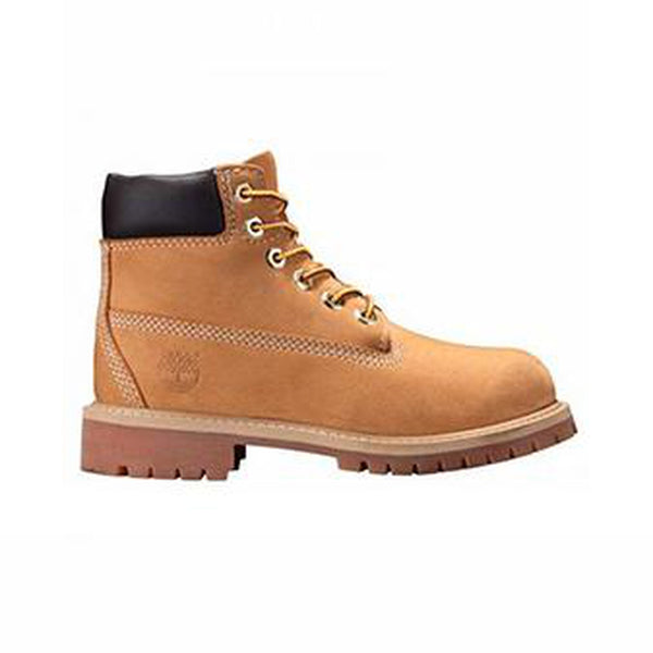TIMBERLAND KIDS YOUTH PREMIUM BOOT - WHEAT NUBUCK