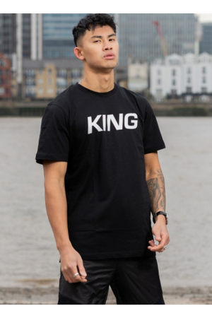 KING DALSTON TEE BLACK