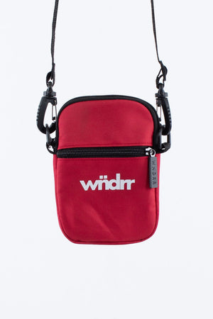 WNDRR ACCENT POCKET BAG RED