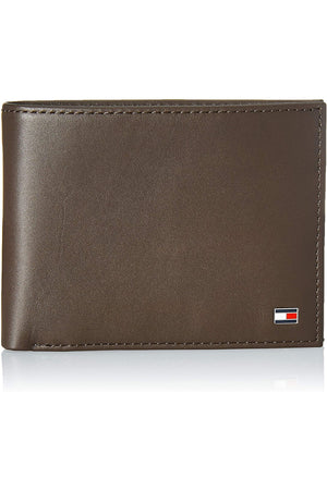 TOMMY HILFIGER CC COIN POCKET BROWN