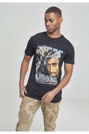 TUPAC RETRO TEE MT621 BLACK