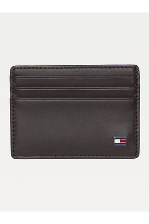 TOMMY HILFIGER CC HOLDER BROWN