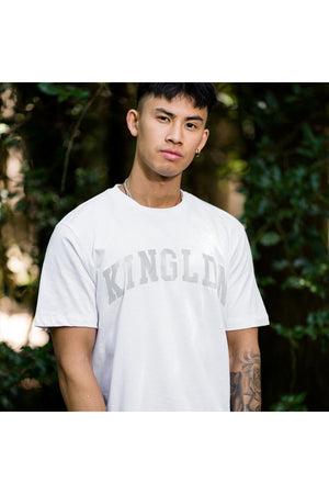 KING Blackwall Varsity T-shirt - White