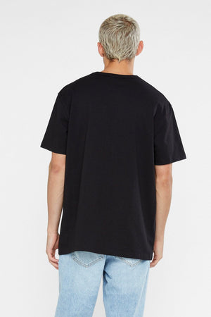 CHAMPION HERITAGE POCKET TEE BLACK