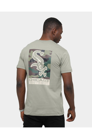 MAJESTIC CHICAGO WHITE SOX PATTISON SS TEE GRAVITY GREY