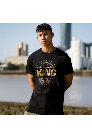 KING BETHNAL TEE - BLACK