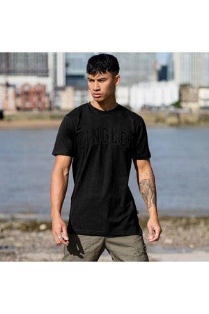 KING BLACKWALL VARSITY TEE - BLACK