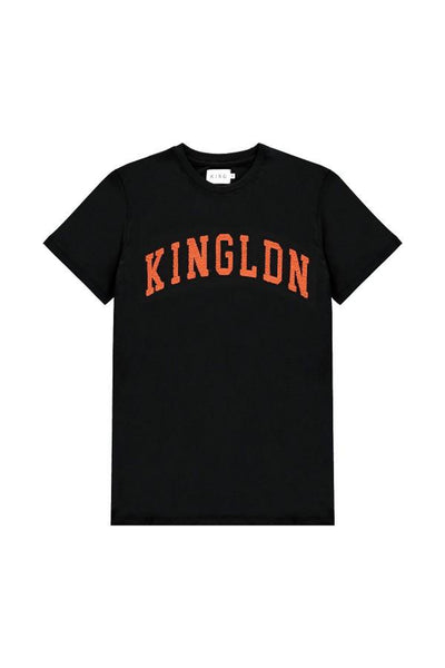 KING BLACKWALL VARSITY TEE - ORANGE