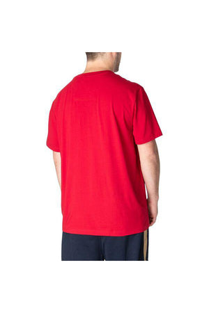 NAUTICA  BIG & TALL ACTIVE STRETCH POCKET TEE NAUTICA RED