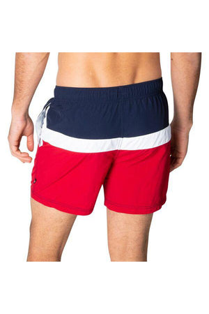 NAUTICA JOIN THE CREW ELASTICATED WAIST SWIM SHORTS NAUTICA RED